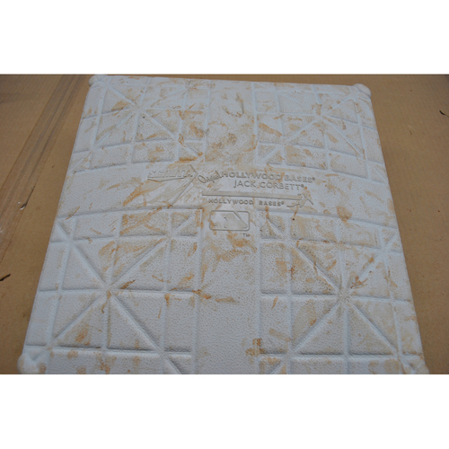 Photo of Game-Used 2nd Base - 2020 ALDS - Houston Astros vs. Oakland Athletics - Game 2 - Used Innings 1-5