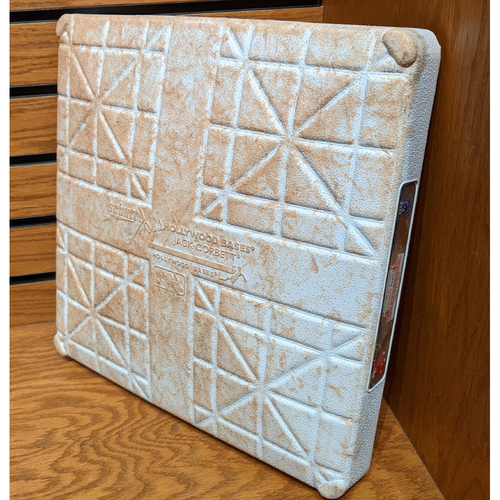 Photo of August 5, 2019 Red Sox vs. Royals Game Used 1st Base