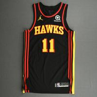 Trae Young - Atlanta Hawks - Kia NBA Tip-Off 2020 - Game-Worn Statement Edition Jersey - Scored Game-High 37 Points