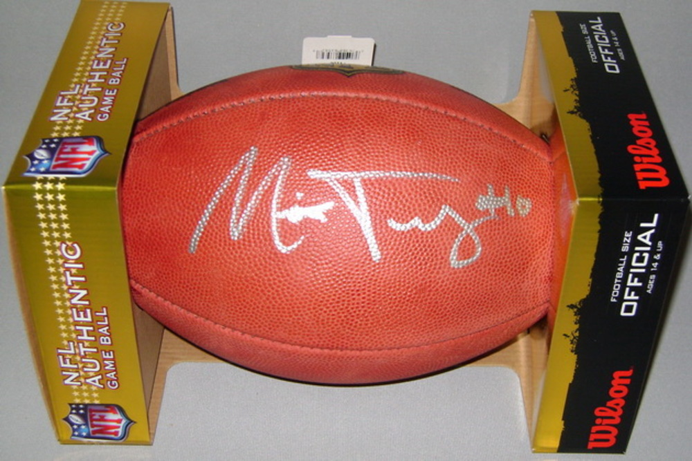 NFL - BEARS MITCHELL TRUBISKY SIGNED AUTHENTIC FOOTBALL