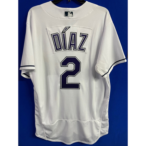 Photo of Game Used Devil Rays Jersey: Yandy Diaz - May 29, 2021 v PHI