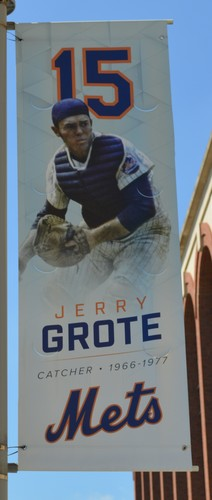 Photo of Jerry Grote #15 - Citi Field Banner - 2017 Season