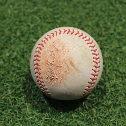 Photo of Game-Used Baseball: Ryan Burr 47th Career Strikeout (CWS@KC 9/5/21)