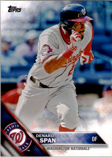 Photo of 2016 Topps #272 Denard Span