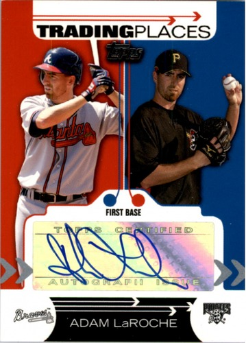 Photo of 2007 Topps Trading Places Autographs #AL Adam LaRoche