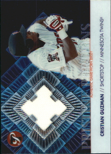 Photo of 2002 Topps Pristine Portions #CG Cristian Guzman Jsy B