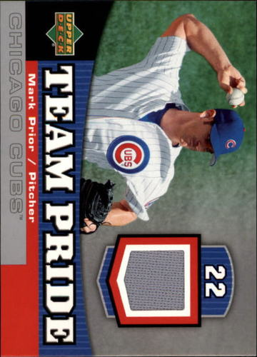 Photo of 2006 Upper Deck Team Pride Materials #MP Mark Prior Jsy
