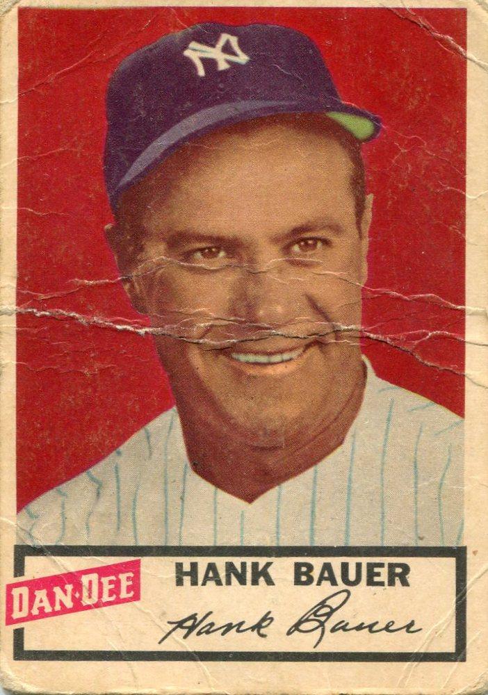 1954 Dan-Dee #2 Hank Bauer