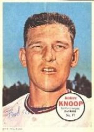 Photo of 1967 Topps Posters Inserts #17 Bobby Knoop
