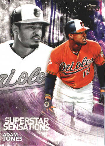 Photo of 2018 Topps Superstar Sensations #SSS21 Adam Jones