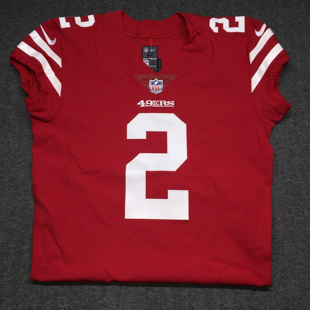 NFL Auction   49ERS - BRIAN HOYER AUTHENTIC 49ERS JERSEY - SIZE 44