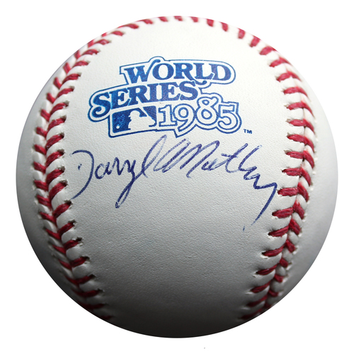 Photo of Autographed Baseball: Darryl Motley 1985 World Series