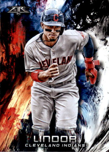 Photo of 2018 Topps Fire #113 Francisco Lindor