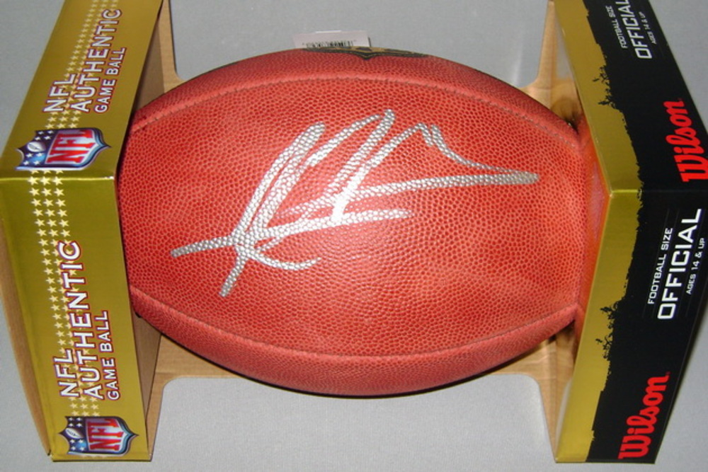 NFL - DOLPHINS RAEKWON MCMILLAN SIGNED AUTHENTIC FOOTBALL