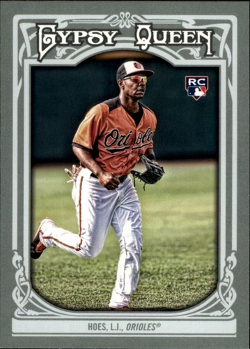 Photo of 2013 Topps Gypsy Queen #4 L.J. Hoes RC