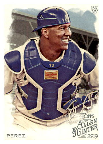 Photo of 2019 Topps Allen and Ginter #110 Salvador Perez