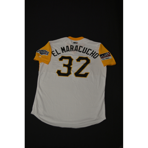 "Photo of 2019 Little League Classic - Game Used Jersey - Elias ""El Maracucho"" Diaz,  Chicago Cubs at Pittsburgh Pirates - 8/18/2019 (Size - 46)"