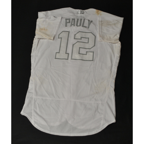 "Photo of Paul ""PAULY"" DeJong St. Louis Cardinals Game-Used 2019 Players' Weekend Jersey"