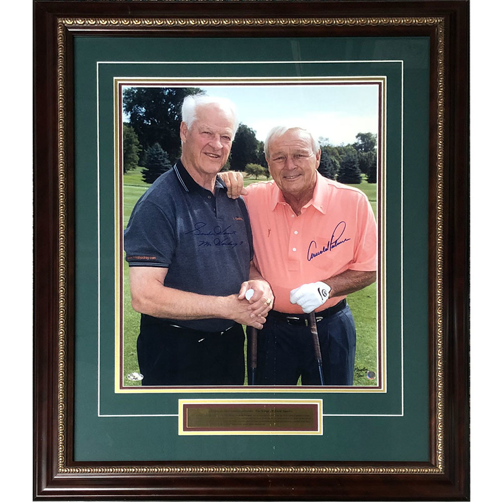 Gordie Howe & Arnold Palmer Autographed Limited-Edition Framed 16X20 Photo - #171/200