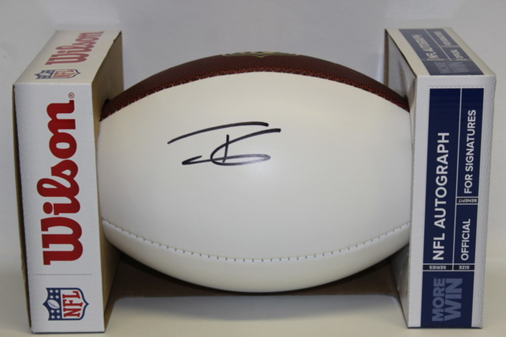 NFL - FALCONS TODD GURLEY SIGNED PANEL BALL