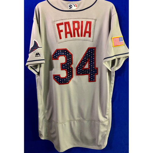 Stars and Stripes Team Issued Autographed Jersey: Jake Faria