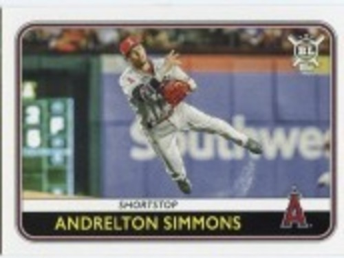 Photo of 2020 Topps Big League #130 Andrelton Simmons
