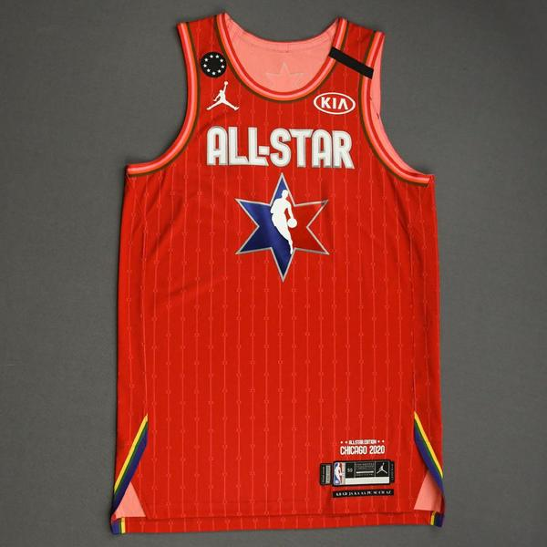 Image of DonovanMitchell - 2020 NBA All-Star - Team Giannis - Autographed Jersey
