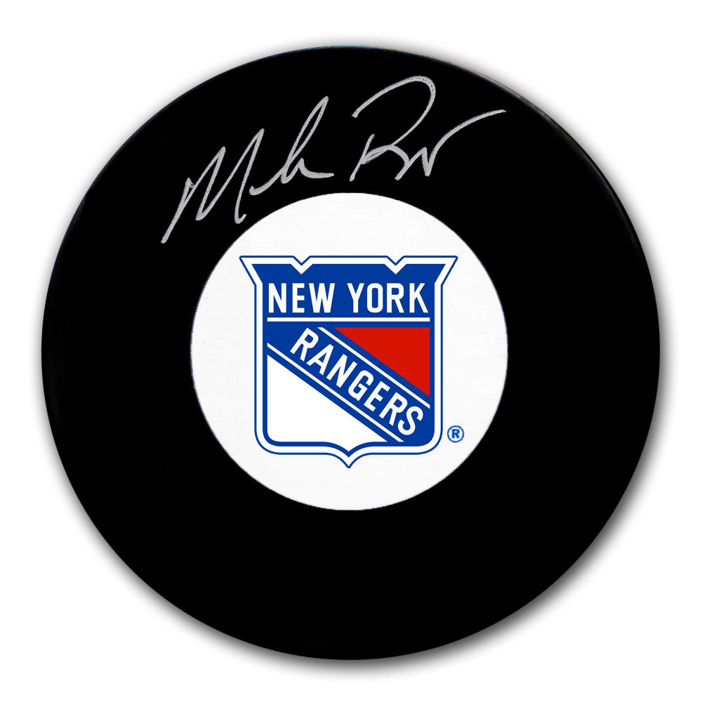 Mike Richter New York Rangers Autographed Puck