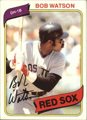 Photo of 1980 Topps #480 Bob Watson
