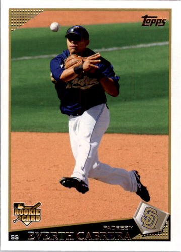 Photo of 2009 Topps #383 Everth Cabrera RC