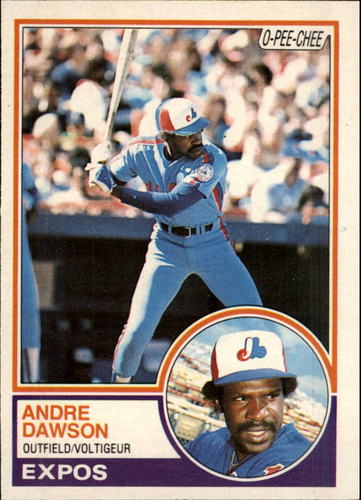 Photo of 1983 O-Pee-Chee #303 Andre Dawson