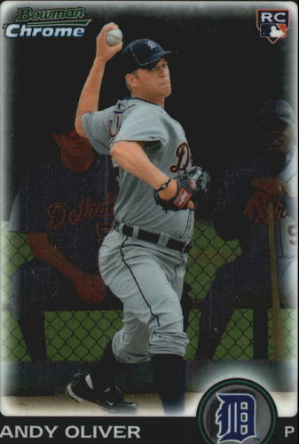 Photo of 2010 Bowman Chrome Draft #BDP25 Andy Oliver RC