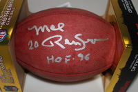 HOF - COWBOYS MEL RENFRO SIGNED AUTHENTIC FOOTBALL