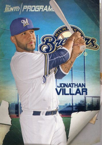 Photo of 2017 Topps Bunt Programs #PRJV Jonathan Villar