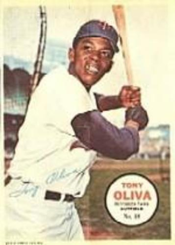 Photo of 1967 Topps Posters Inserts #18 Tony Oliva