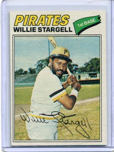 Photo of 1977 Topps #460 Willie Stargell Hall of Famer