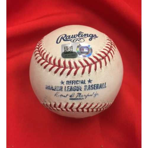 Jake Lamb -- Player Collected Home Run Baseball -- 61st HR of Career Ties Eric Byrnes for 13th Place among Diamondbacks All-Time -- D-backs vs. Reds on July 20, 2017