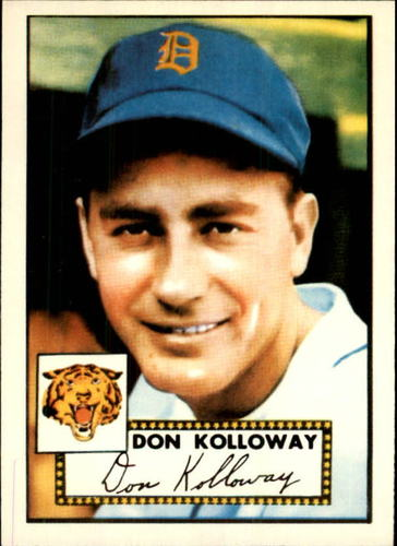 Photo of 1983 Topps 1952 Reprint #104 Don Kolloway