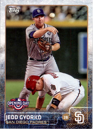 Photo of 2015 Topps Opening Day #28 Jedd Gyorko