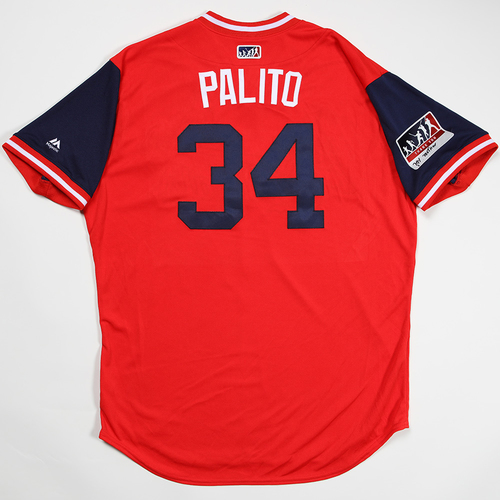 "Photo of Yairo ""Palito"" Munoz St. Louis Cardinals Game-Used 2018 Players' Weekend Jersey"