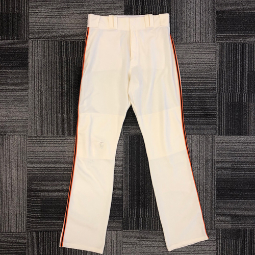 Photo of 2017 Team Issued Home Pants - #35 Brandon Crawford - Size 36-43-37