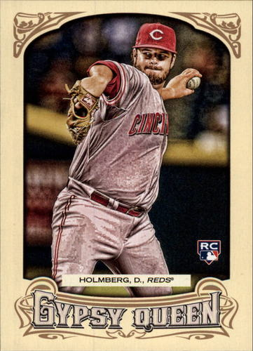 Photo of 2014 Topps Gypsy Queen #290 David Holmberg RC