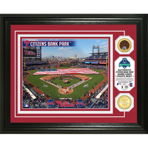 Photo of Serial #1! Philadelphia Phillies Dirt Coin Photo Mint