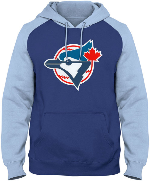 Toronto Blue Jays Express Cooperstown Raglan Hoodie by Bulletin