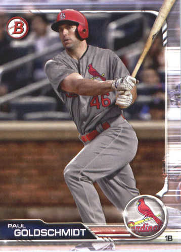 Photo of 2019 Bowman #85 Paul Goldschmidt