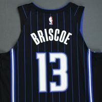 Isaiah Briscoe - Orlando Magic - 2018-19 Season - Mexico Games - Game-Worn Black Statement Edition Jersey - Dressed, Did Not Play