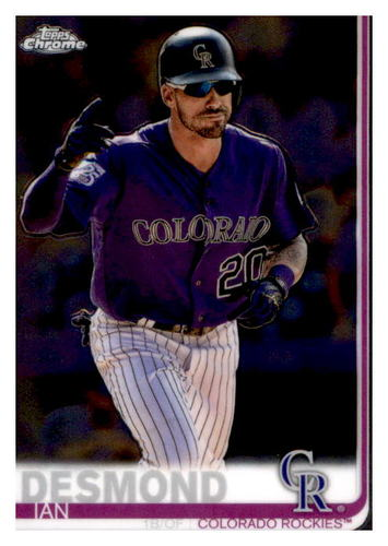 Photo of 2019 Topps Chrome #113 Ian Desmond