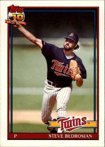 Photo of 1991 Topps Traded #6T Steve Bedrosian