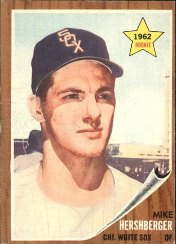Photo of 1962 Topps #341 Mike Hershberger RC