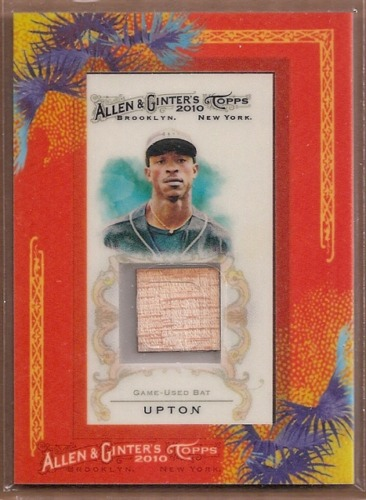 Photo of 2010 Topps Allen and Ginter Relics #BU B.J. Upton